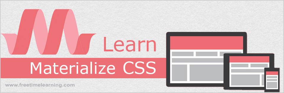Material Design Tutorial, Materialize CSS Tutorial - Free