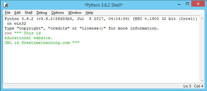 Pyhton Comments   Python tutorial for beginners